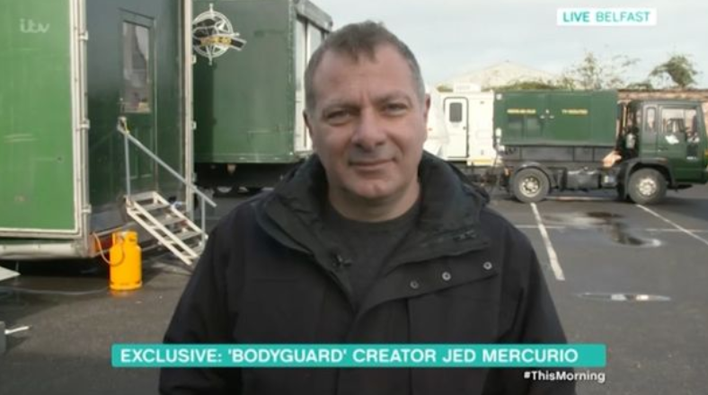 Jed Mercurio talks about his success on This Morning (Credit: ITV1)