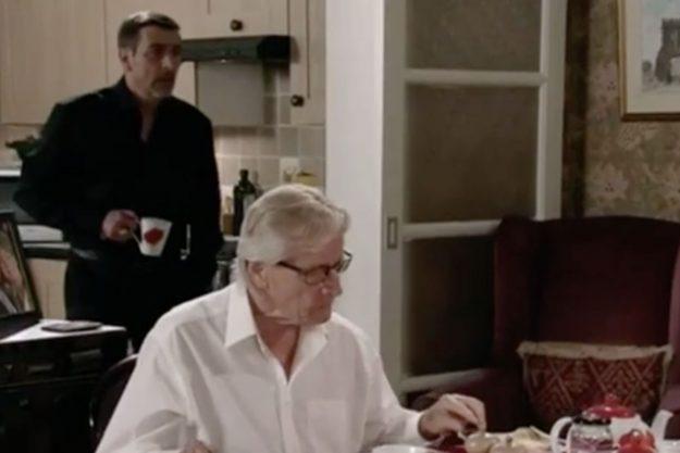 Peter Barlow and dad Ken