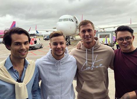 Dan Osborne Celebrity Road Trip