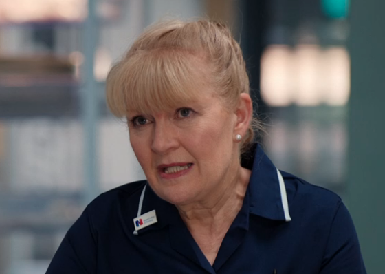 Casualty SPOILER: Duffy told she's in the early stages of vascular dementia