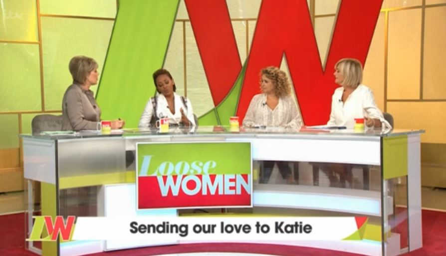 Loose Women send message to Katie Price