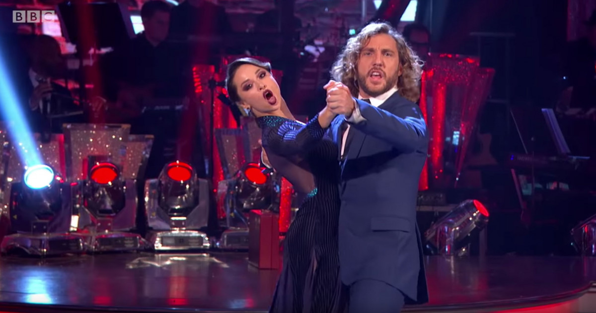 Seann Walsh Strictly Come Dancing BBC