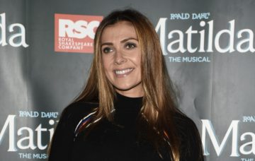 Kym Marsh, Celebs at The Matilda Press Night At The Palace Theatre In Manchester