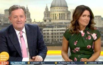 Susanna Reid Piers Morgan Good Morning Britain ITV