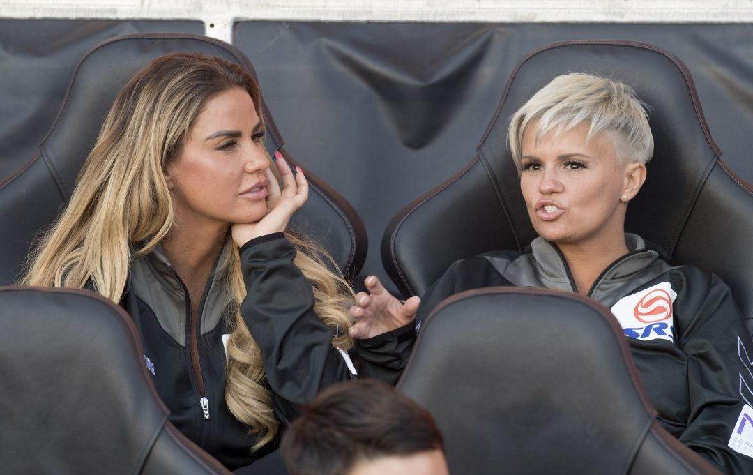 Kerry Katona makes a promise to close friend Katie Price