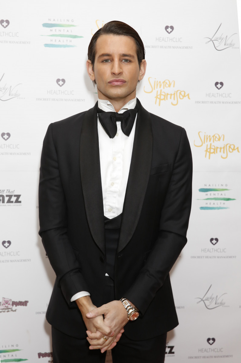 Ollie Locke, Nailing Mental Health Valentine's Ball Held In London