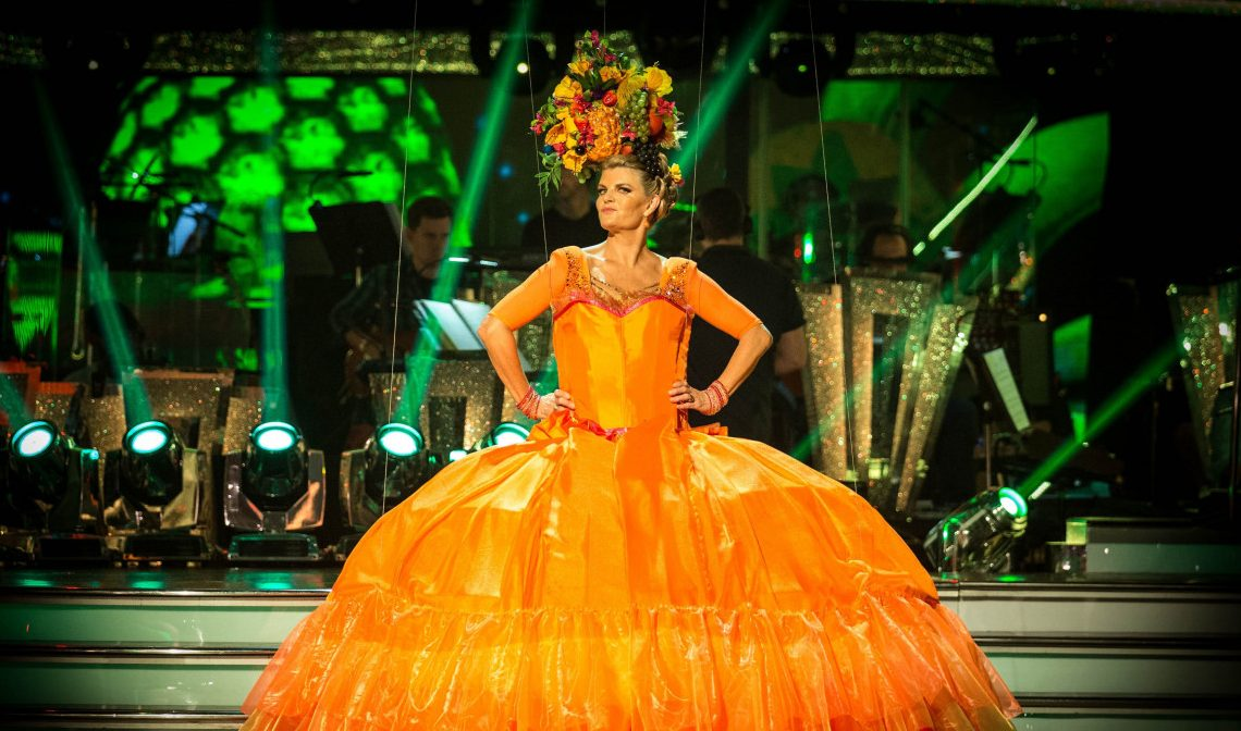 Susannah Constantine for Strictly Come Dancing