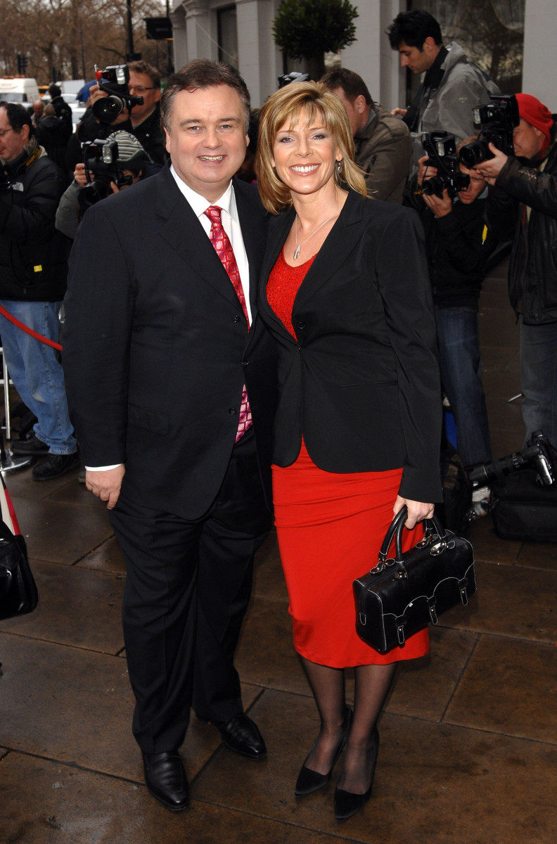 Ruth Langsford and Eamonn Holmes TRIC (Television and Radio Industries Club) Awards held at Grosvenor House - Arrivals London, England