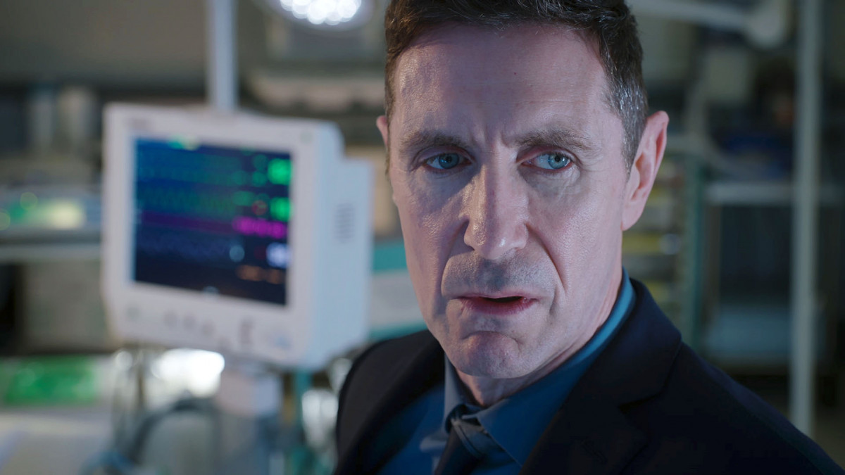 Professor Gaskell Holby City