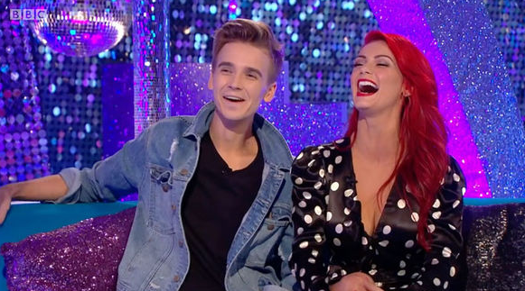 Joe Sugg and Dianne Buswell 'enjoy romance' after she splits from boyfriend