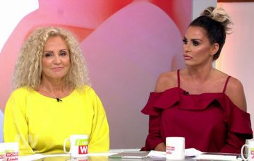 Katie Price and her mum Amy on Loose Women