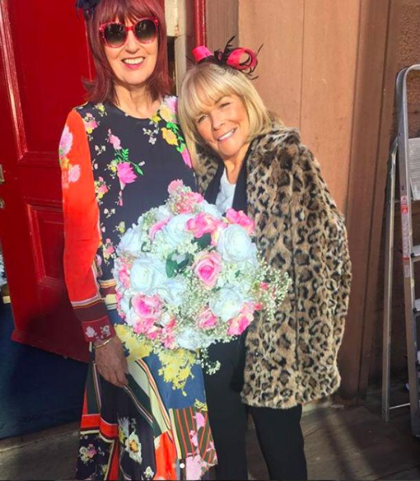 Linda Robson Janet Street Porter Hollyoaks
