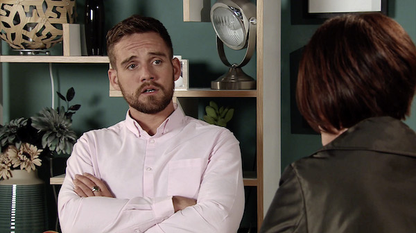 Corrie's James Burrows announces he's expecting baby with girlfriend