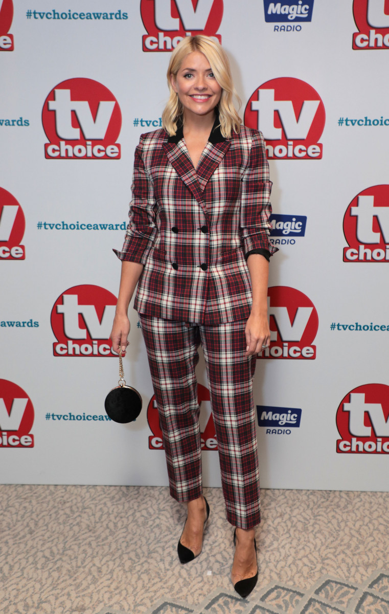 Holly Willoughby, The TV Choice Awards, Dorchester Hotel, London, UK