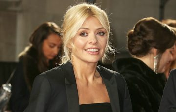 Holly WIlloughby, The Fashion Awards 2017