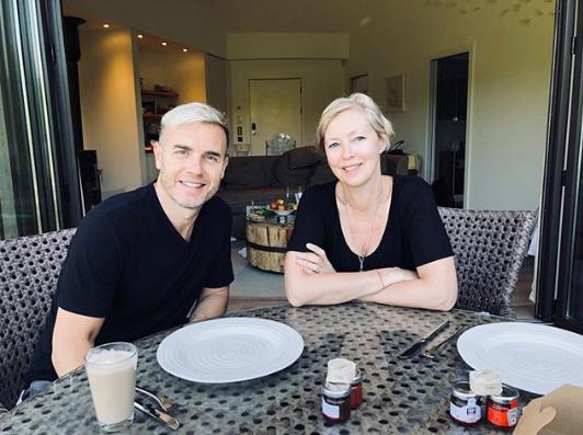 Gary Barlow and wife Dawn