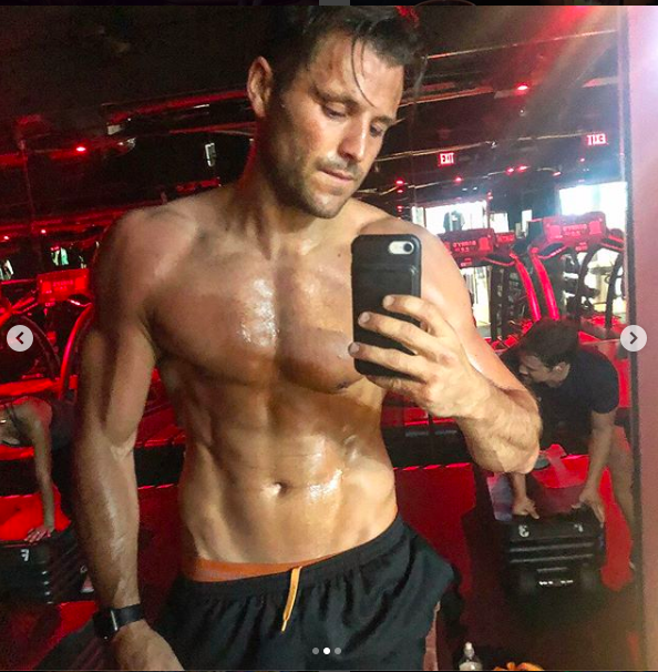 mark wright instagram gym