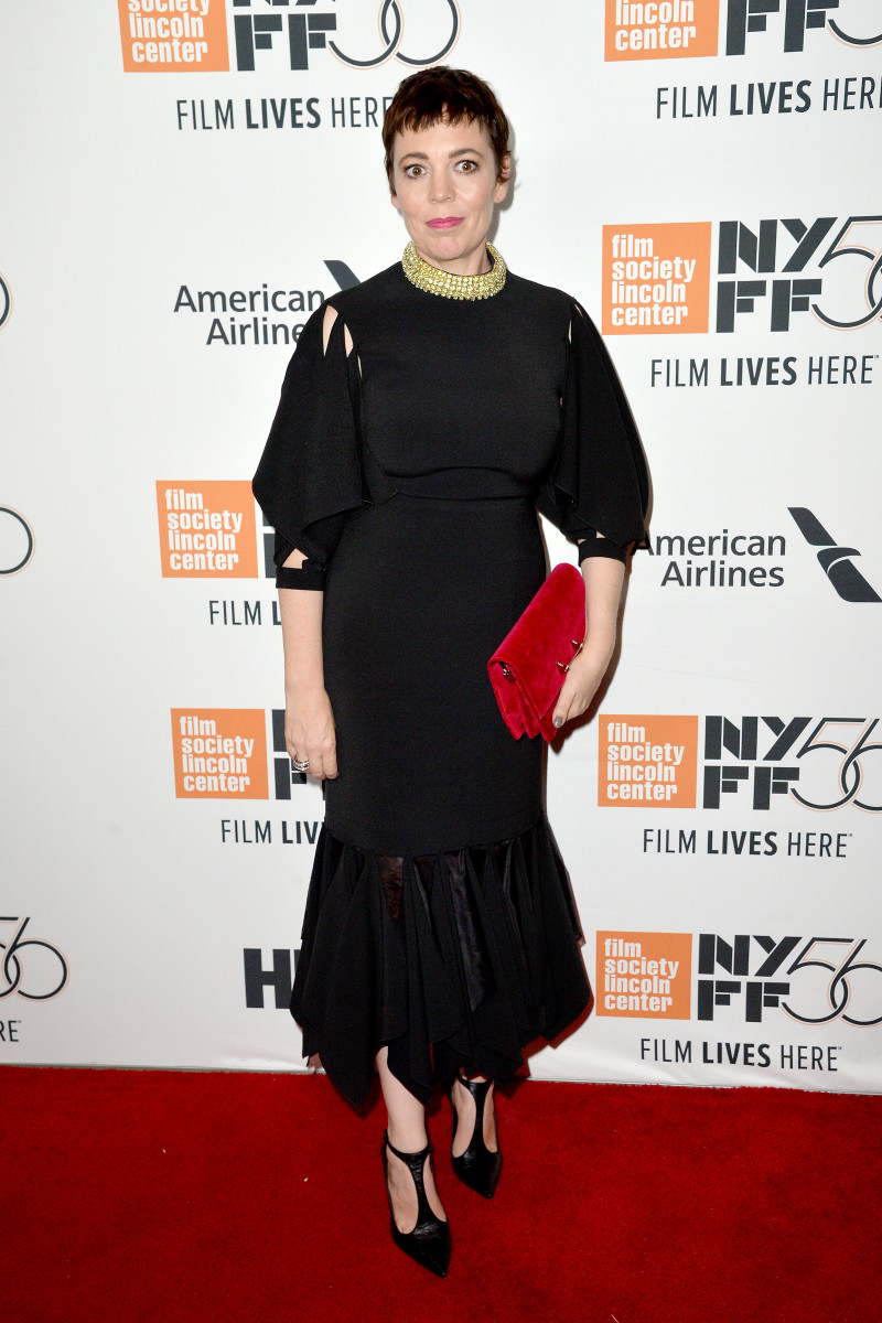 Olivia Colman, The Favourite Premiere During The 56th New York Film Festival In New York