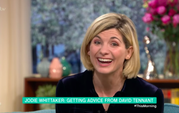 jodie whittaker this morning doctor who itv
