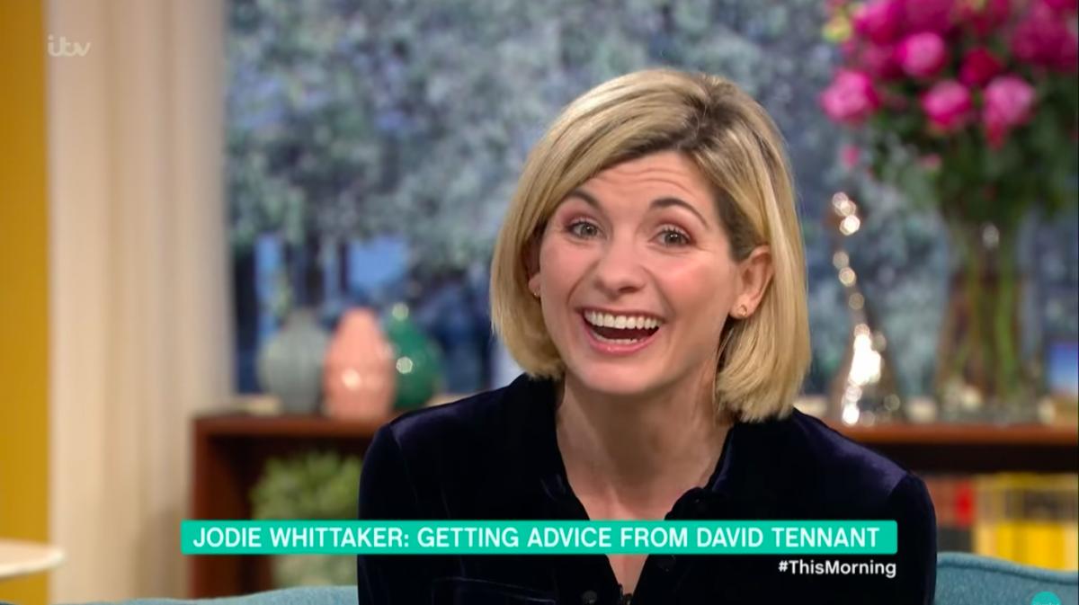 """Doctor Who's Jodie Whittaker jokes Bradley Walsh is a """"nightmare""""!"""