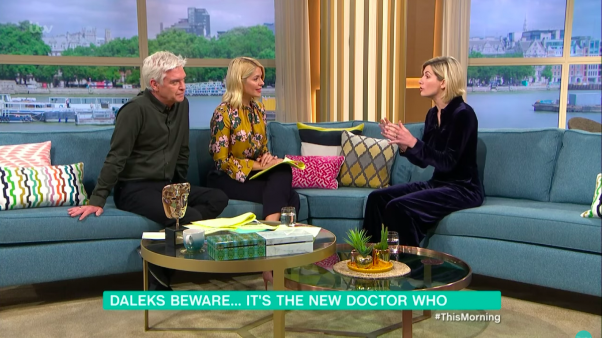 bradley walsh jodie whittaker doctor who this morning