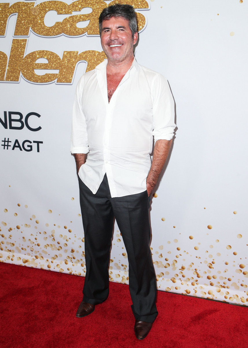 SImon Cowell, America's Got Talent' Season 13 Finale Live Show Red Carpet