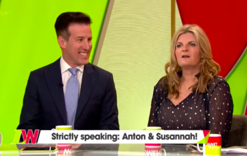 anton du beke susannah constantine strictly loose women