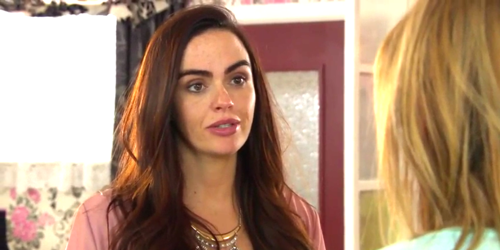 Hollyoaks' Mercedes will be shot in huge whodunnit