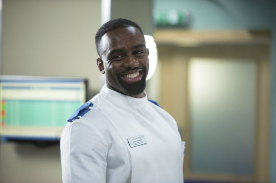 Strictly and Casualty's Charles Venn has fans a quiver with topless waterfall shot