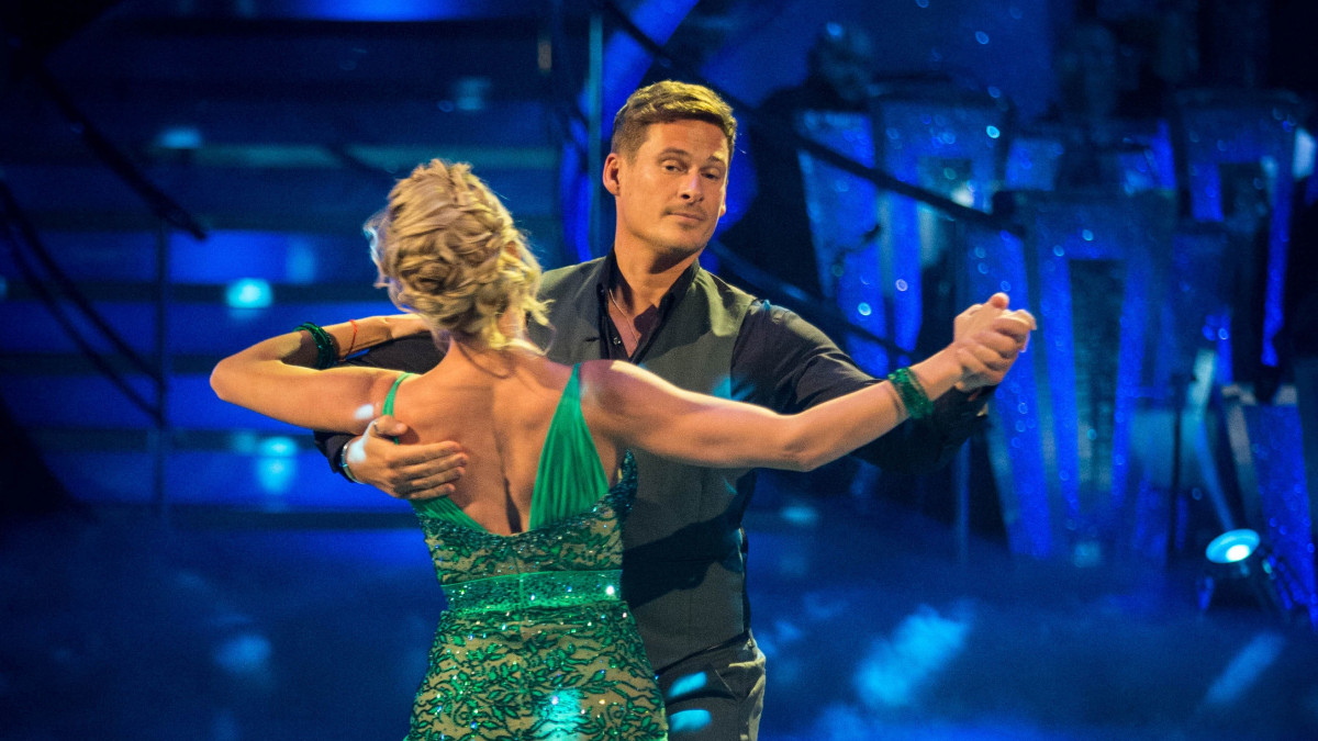 Lee Ryan and Nadiya Bychkova, Strictly / PA