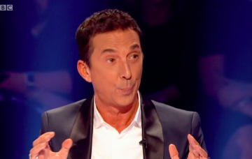 Strictly Come Dancing's Bruno Tonioli falls off his chair but viewers think it's a stunt