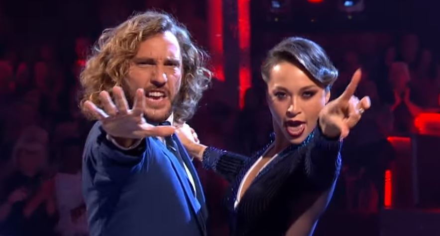 Seann Walsh and Katya Jones, Strictly