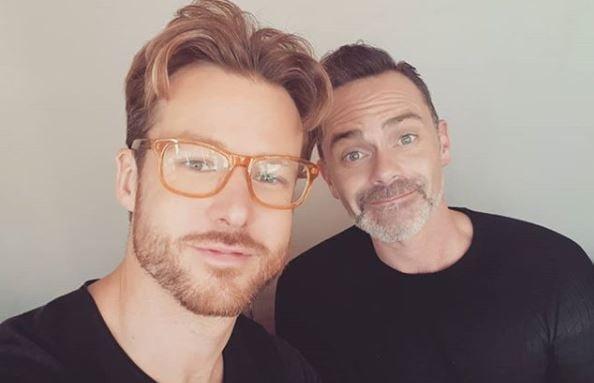 Daniel Brocklebank and Stuart Hatton