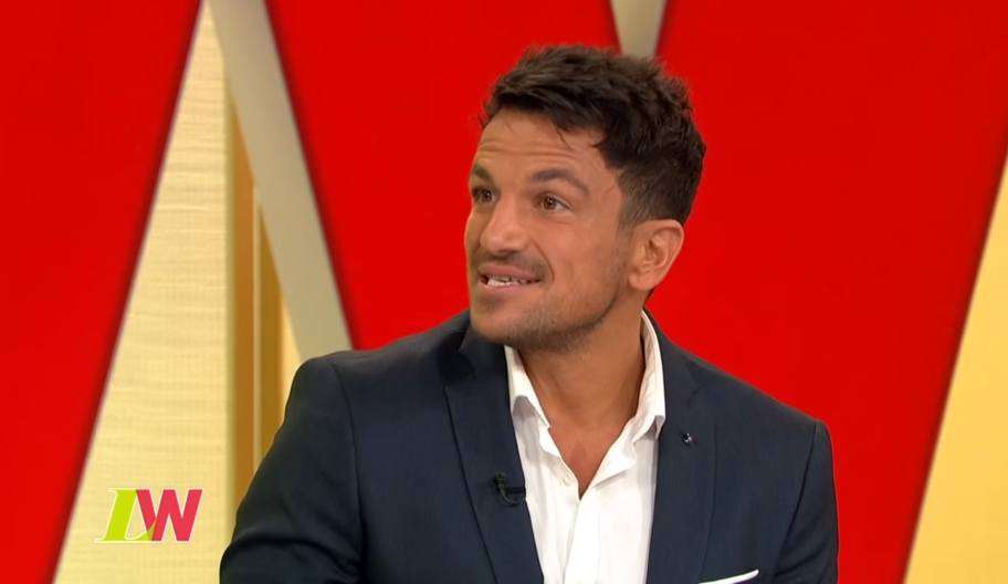 "Peter Andre discusses ""strict"" parenting rule for son Junior"