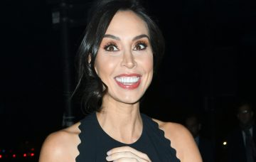 Christine Lampard arriving at the Grosvenor Hotel for the Legends of Football