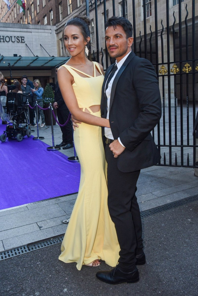 Peter and Emily Andre, Celebrities Arrive At The Butterfly Ball In London