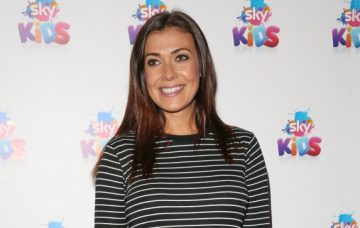 Kym Marsh, EastEnders actress Kellie Bright attends Sky Kids Cafe launch party in London