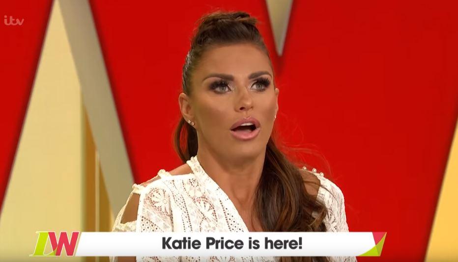 Katie Price on Loose Women