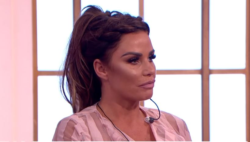 Katie Price flogs old knickers and breast implants to pay driving ban fine