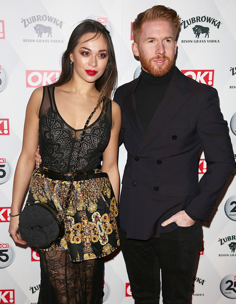 Neil and Katya Jones, OK Magazine - 25th Anniversary Party