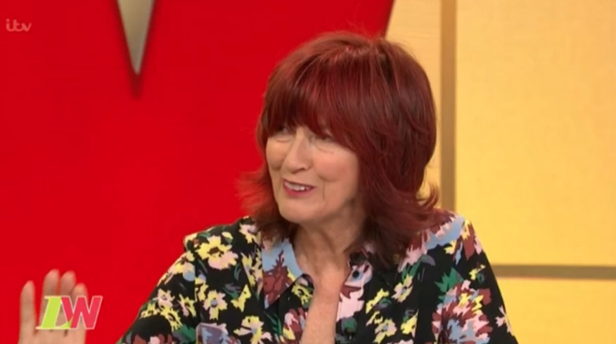 Janet Street Porter tells Seann Walsh's girlfriend to 'get a grip' over split statement
