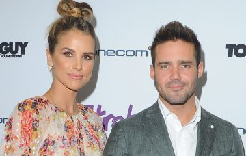 Vogue Williams and Spencer Matthews at the Life After Stroke Awards 2017