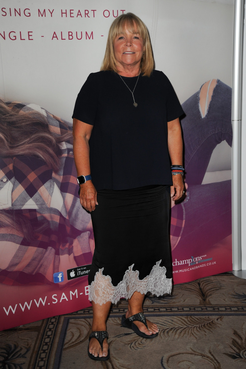Linda Robson, Celebrities Attend The Sam Bailey Album Launch In London