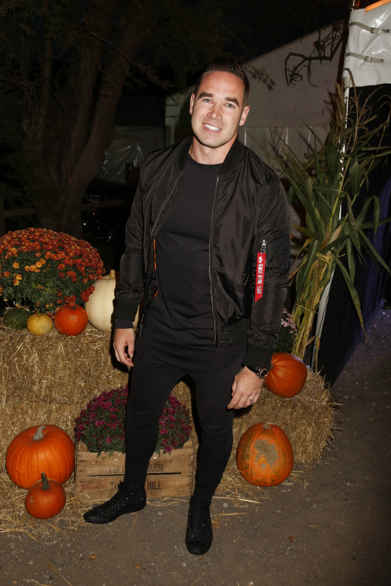 Kieran Hayler, Kieran Hayler Attends Tulleys Farm Shocktober Fest In London