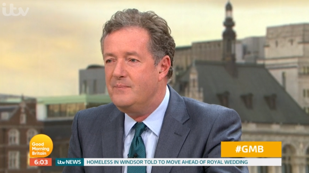 Piers Morgan clashes with presenter Matt Johnson in mental health row