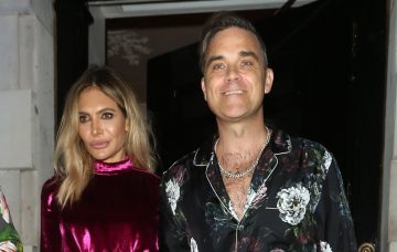Simon Cowell has double date with partner Lauren Silverman and new X Factor judges Robbie Williams and Ayda Field