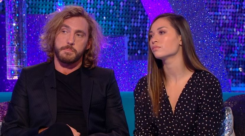 Seann Walsh and Katya Jones on It Takes Two