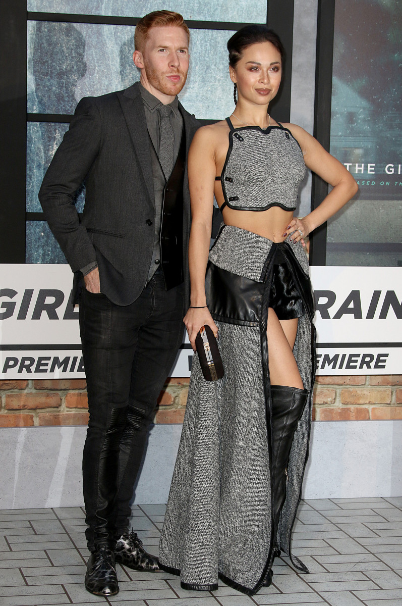 Neil and Katya Jones, Splashnews.com