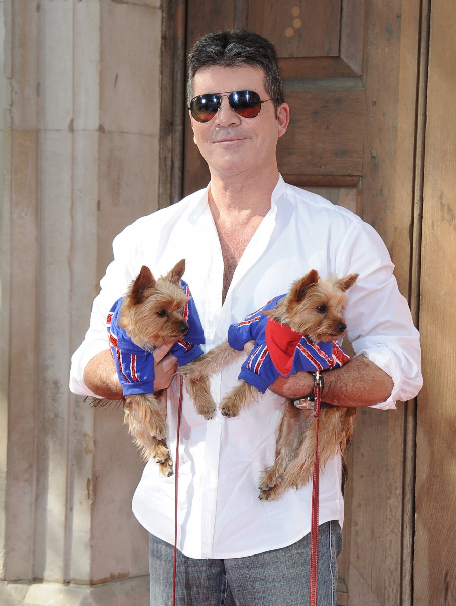 Simon Cowell at the 'Britain's Got Talent' Press Launch in London