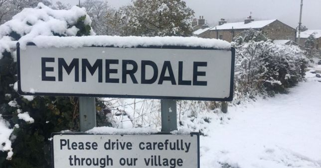 Emmerdale at Christmas
